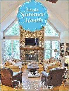 Simple Summer Mantle