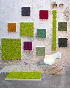 Réalisation de mur vegetal LAROUSSE CREATION
