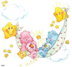 Care Bears - sweet dreams!