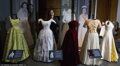 The first display focused on significant events throughout the Queen's life, her support of British craft and design and tartan in royal dress