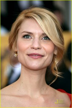 The incredibly talented, Claire Danes.  Love her in Homeland!