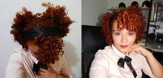 Penteado romântico! #CurlyHair