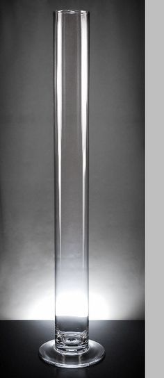 Tall Cylinder Vase 39.5in