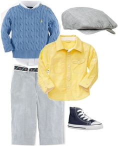 """""""Easter baby boy"""" by myrecat ❤ liked on Polyvore"""