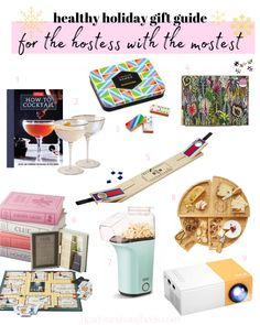 Ideas for everyone on your list, including your friend who's the hostess with the mostest. Give them a gift that will level up their parties and family nights