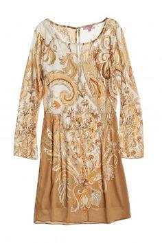 Nuvaya Printed Stretch Silk Dress | Calypso St. Barth