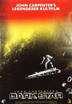 "John Carpenter's ""Darkstar"". Movie poster. 1974."
