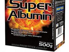 Super Albumina 500g Millenium - Probiótica com as melhores condições você encontra no Magazine Krvariedades. Confira!