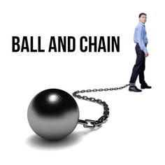 Ball and Chain Idiomatic Expressions, Gym Equipment, Exercise, Chain, Ejercicio, Necklaces, Excercise, Work Outs, Workout Equipment