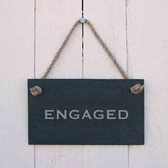 Double sided 'Engaged/Vacant' Slate Hanging Sign, http://www.amazon.co.uk/dp/B00NHS424C/ref=cm_sw_r_pi_awdl_bhOsvb1YM4SB9