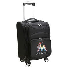 MLB Miami Marlins Carry-On Spinner