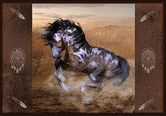 Painted War Ponies | Painted Pony Redux by Shanina Conway
