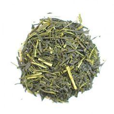 NaturaliTea : Organic Shogun Midori is has a strong astringent taste. This tea is recommended for those who like strong green teas. Wholesale Tea, Sencha Green Tea, Matcha, How To Dry Basil, Gourmet Recipes, Herbs, Organic, Green Teas, Food