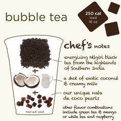 Argo Tea. Can it be called bubble tea if it's a cube?