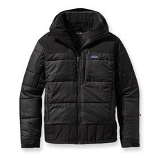 If it's bitter cold out, I'll be wearing my Patagonia Rubicon Rider jacket. #warmth