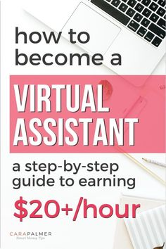 Learn how to become a virtual assistant even if you don't have any experience. We'll show you what services you can offer and how to find clients. Find out how to get the tools and training you need to land top-paying clients. Online Jobs From Home, Work From Home Jobs, Online Work, Make Money From Home, Way To Make Money, Make Money Online, Earn Extra Cash, Making Extra Cash, Extra Money
