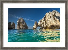 Los Cabos Framed Print featuring the photograph Cabo San Lucas by Sebastian Musial