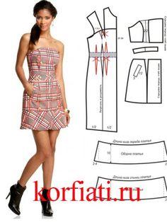 Pattrn-dress-korset