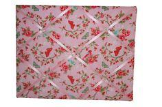 Memobord Bloemen Roze