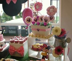 Minnie Mouse birthday by Happy Day Para Vos