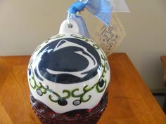 #PSU Ornament - Come to our Toys for Tots Happy Hour and Silent Auction for your chance to win this! All proceeds benefit the #PSU Chapter Scholarship Fund. Event details at http://pennstatecnj.com