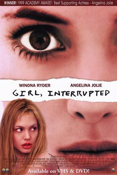 Girl, Interrupted (1999)    Based on writer Susanna Kaysen's account of her 18-month stay at a mental hospital in the 1960s.