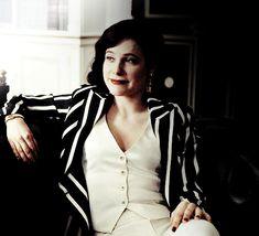 "Caroline Dhavernas as Alana Bloom in the third season of ""Hannibal"""