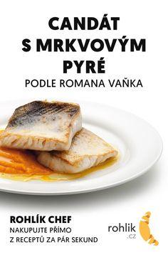 Candát s mrkvovým pyré recept French Toast, Keto, Fish, Breakfast, Morning Coffee, Pisces