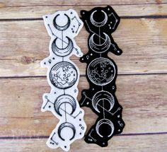 Moon Phases Vintage Celestial Iron On Embroidery Patch MTCoffinz - Choose Size / Color - Купцова Евгения - Moon Phases Vintage Celestial Iron On Embroidery Patch MTCoffinz - Choose Size / Color Moon Phases Vintage Celestial Iron On Embroidery Patch - Lotusblume Tattoo, Tattoo Mond, Tattoo Hals, Piercing Tattoo, Tattoo Drawings, Tattoo Forearm, Tattoo On Thigh, Sternum Tattoo Design, Tribal Tattoos