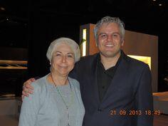 Marcos Fidélis (in memorian) e Alódia Guimarães - no MBA Gestão de Eventos e Cerimoniais de Luxo - Mario Ameni.