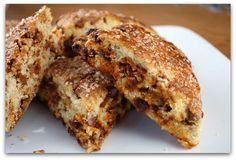 Cinnamon Eggnog Scones - always on the lookout for good eggnog recipes!