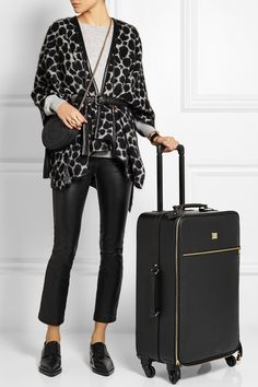 DOLCE & GABBANA Textured-leather travel trolley £2,248.75 http://www.net-a-porter.com/products/457338