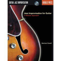 Berklee Press Jazz Improvisation for Guitar Book/CD