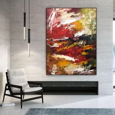 Extra Large Wall Art Textured Painting Original image 1 Large Wall Canvas, Large Abstract Wall Art, Extra Large Wall Art, Acrylic Painting Images, Large Painting, Texture Art, Texture Painting, Office Wall Art, Office Decor
