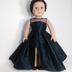 """Evening in Paris"" Gown for the American Girl dolls by LilyKayDollClothes on Etsy  $45.00"