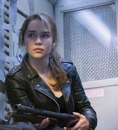 "Emilia Clarke en""Terminator Génesis"" (Terminator Genisys), 2015"