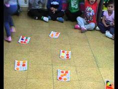 bingo distintos patrones físicos. 3 AÑOS