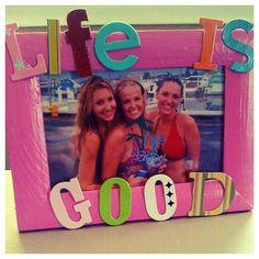 Homemade photo frame with cardboard - niribili picnic spot narail image