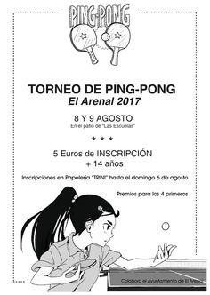 TietarTeVe en Gredos: 8 Agosto: Torneo de Ping-Pong en El Arenal