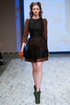 Ulyana Sergeenko F/W 2011 Moscow - the Fashion Spot