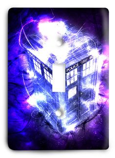 Doctor Who - Collector Series V54 Light Switch Cover
