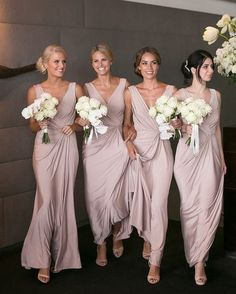 Elegant V-neck Sexy Bridesmaid Dresses Cheap Long Party Dres.- Elegant V-neck Sexy Bridesmaid Dresses Cheap Long Party Dress for Maid of Honor - Cheap Long Dresses, Dress Long, Dress Formal, Inexpensive Dresses, Easy Dress, Satin Bridesmaid Dresses, Prom Dresses, Blush Dresses, Evening Dresses