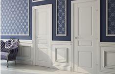 Белые межкомнатные двери - высокий стиль и классика