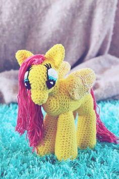 kungen & majkis: Virkad My Little Pony. Med mönster.