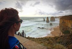 Stopping to take in the beauty that is the 12 Apostles during a road trip along the Great Ocean Road in Victoria Australia.  I recorded a short time lapse while I was here but wasn't completely happy with it as there was some camera movement due to very high winds.  #photo #travel #12apostles #greatoceanroad #victoria #australia #roadtrip #me #landscape #photooftheday #instagood #instadaily #clouds #beach #rocks #travelgram #photography #iphoneonly #adventure #live #life #happy #selfie…