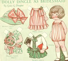 Dolly Dingle as bridesmaid