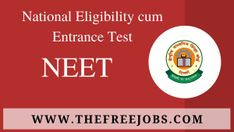 National Testing Agency (NTA) has published Result for the National Eligibility cum Entrance Test (NEET 2020), Check below for more details. Exam Name: NTA National Eligibility cum Entrance Test (NEET 2020) Result: Click Here For ... Read moreNTA National Eligibility cum Entrance Test (NEET 2020), Result The post NTA National Eligibility cum Entrance Test (NEET 2020), Result appeared first on TheFreeJobs.Com. Entrance, Names, Reading, Check, Free, Entryway, Door Entry, Reading Books
