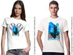 Twin Towers, Wordpress, Park, City, Mens Tops, T Shirt, Travel, Design, Women