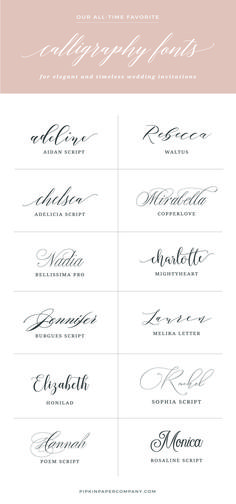 Want to know the secret to DIY wedding invitations that don't look DIY? The … Want to know the secret to DIY wedding invitations that don't look DIY? The font! Here are the best fonts for wedding invitations that won't break the bank. Wedding Invitation Trends, Invitation Kits, Wedding Fonts, Beach Wedding Invitations, Rustic Invitations, Wedding Tips, Invitation Design, Wedding Cards, Wedding Planning