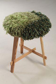 Alexandra Kehayoglou Kids Furniture, Furniture Design, Forest Room, Latch Hook Rugs, Organic Art, Good Tutorials, Yarn Bombing, Sewing Art, Rug Hooking